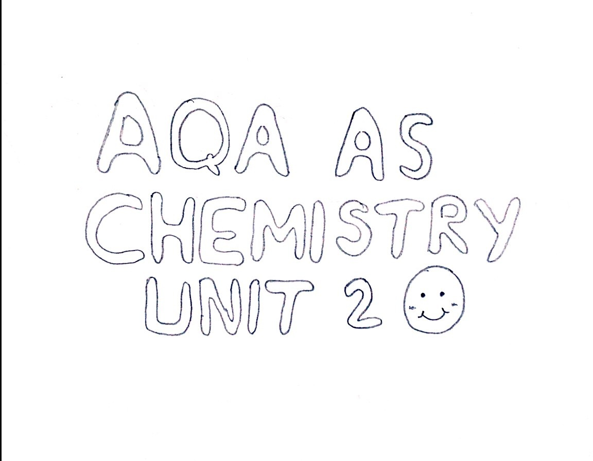AQA AS Chemistry Unit 2