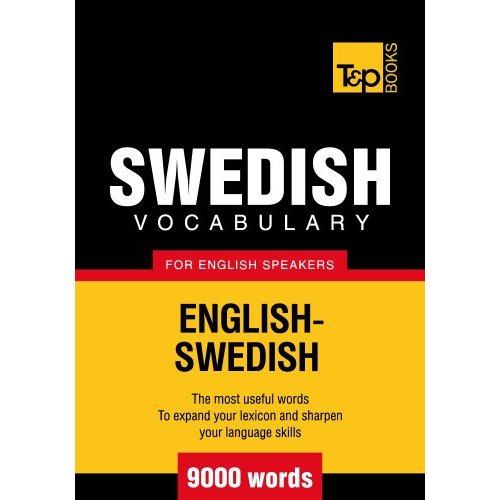 6000+ Swedish Vocabulary Words
